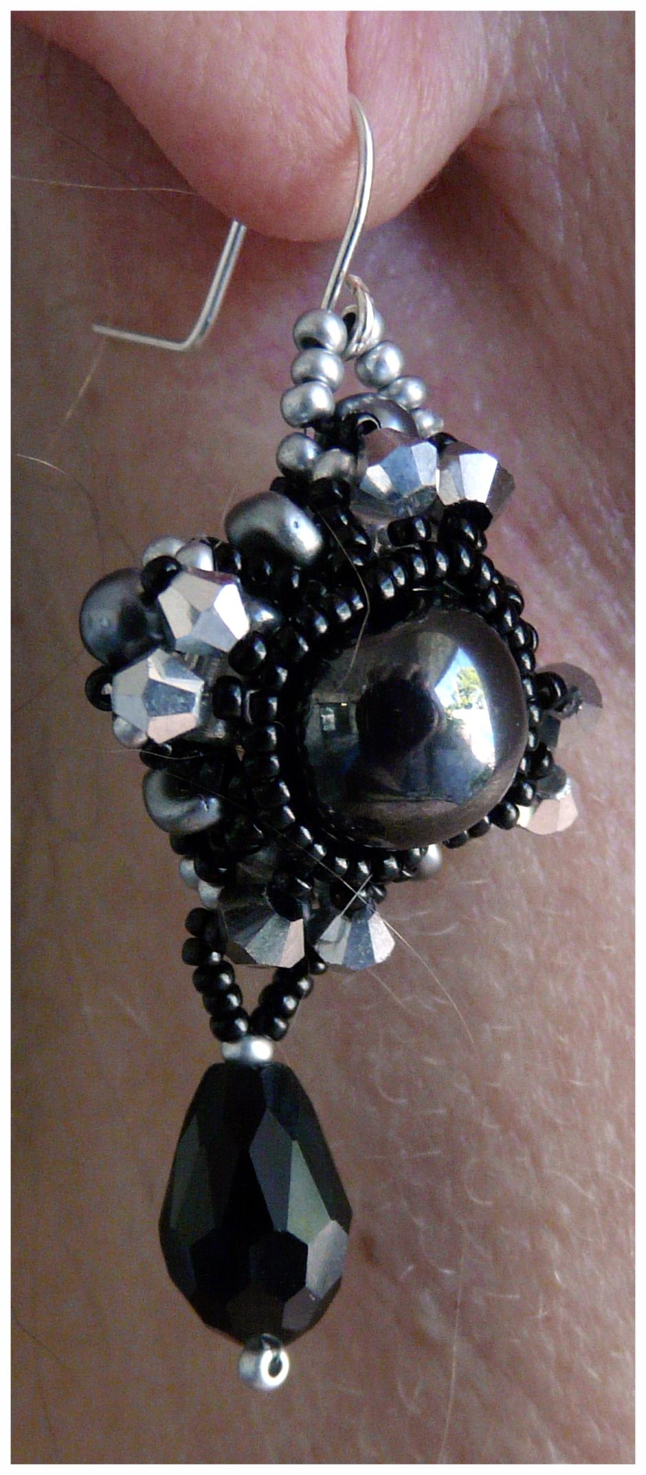 Diamond Weave Earring