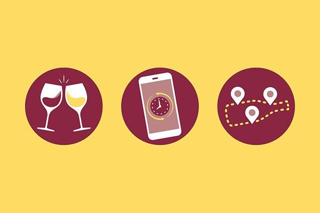 Icon design for a wine-centric business🍷