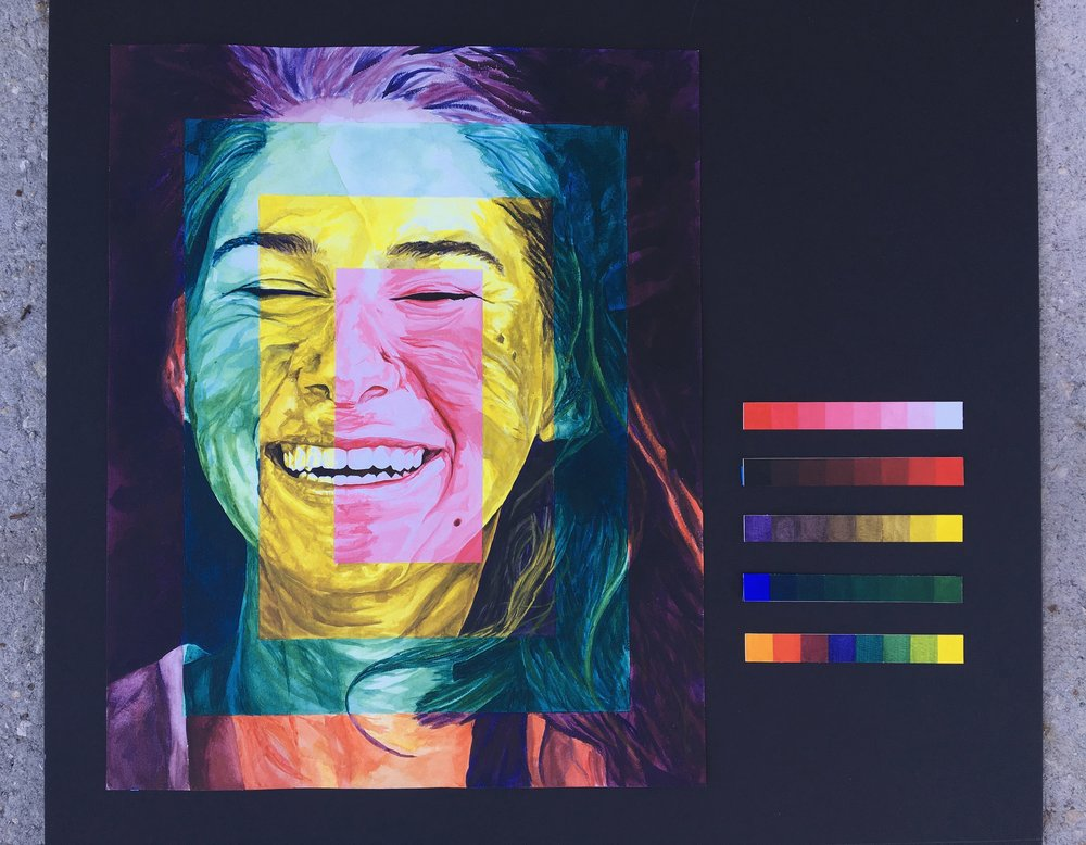 Color Theory: Self Portrait