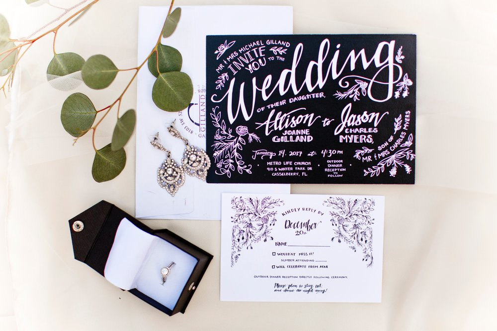 Custom Wedding Invitations & Rsvps