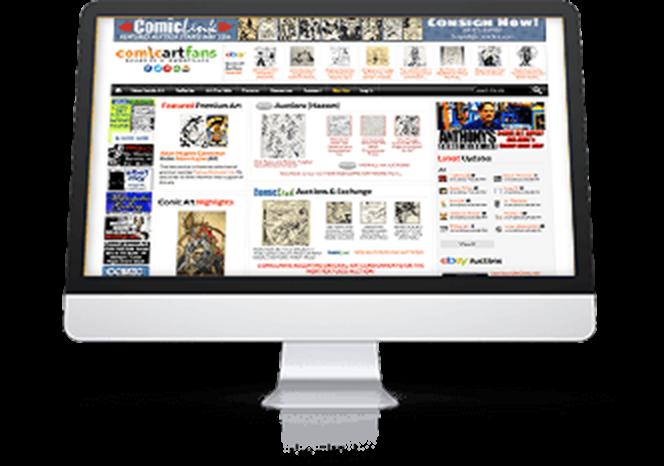 «eBay Partner Network no solo me ha ayudado a convertir una afición en un trabajo de dedicación exclusiva, sino que además me ha abierto un sinfín de puertas en los ámbitos personal y profesional».    Bill Cox Owner   ComicArtFans.com