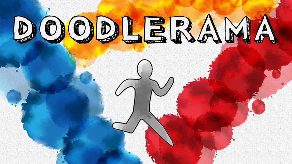DOODLERAMA - A TURN-BASED GAME IN WHICH YOU ARE GIVEN A BRUSH AND INCREASINGLY DIFFICULT PUZZLES TO SOLVE. YOU CAN DOODLE ANYTHING AND EVERYTHING TO HELP NAVIGATE YOUR PLAYER THROUGH EACH LEVEL WHILE UTILIZING DIFFERENT COLORS FOR SPECIAL PLAYER ENHANCEMENTS!
