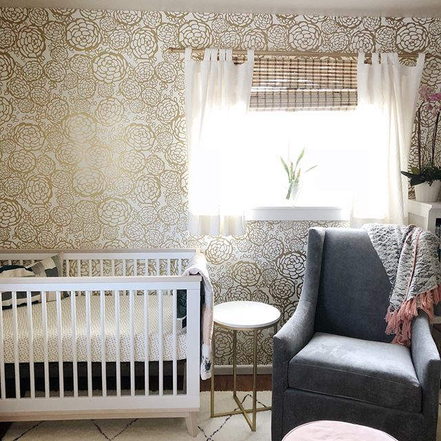 My time has been completely occupied with my little one these days, but finally wanted to share her nursery. Being a designer, I probably spent waaaay to much time planning and searching for just the perfect pieces. But am so happy with how it all turned out (with lots more projects in the works!)