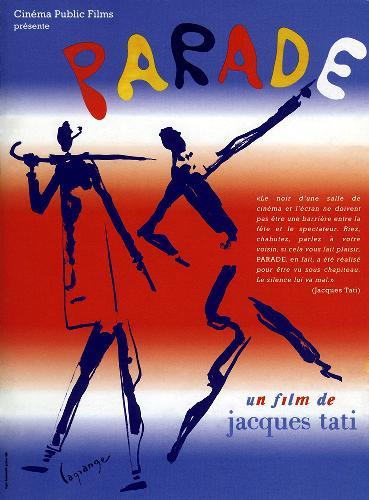 IMAGE: Poster from  Parade , dir. Jacques Tati, 1986.