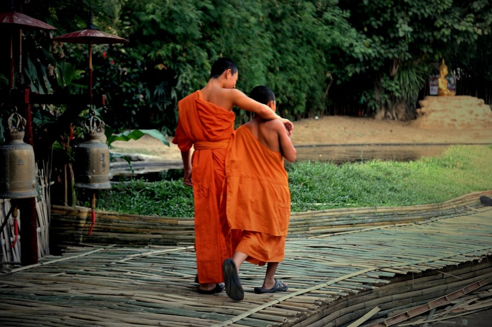 Two Friends, Chaing Mai, Thailand
