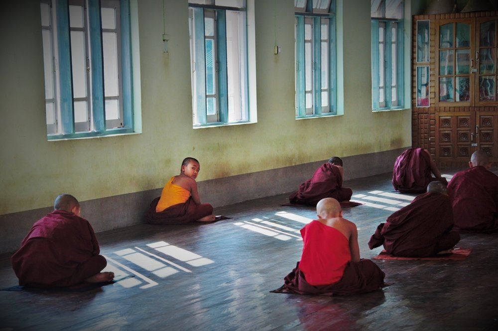 Buddhist Monastery school