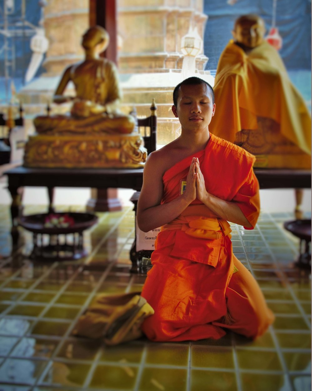 Thai Novice, Chaing Mai, Thailand