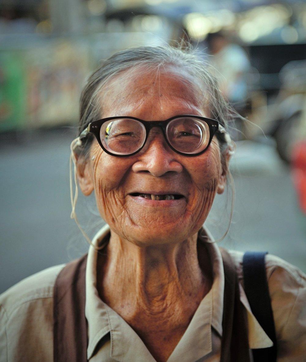 Lottery seller, Chaing Mai, Thailand
