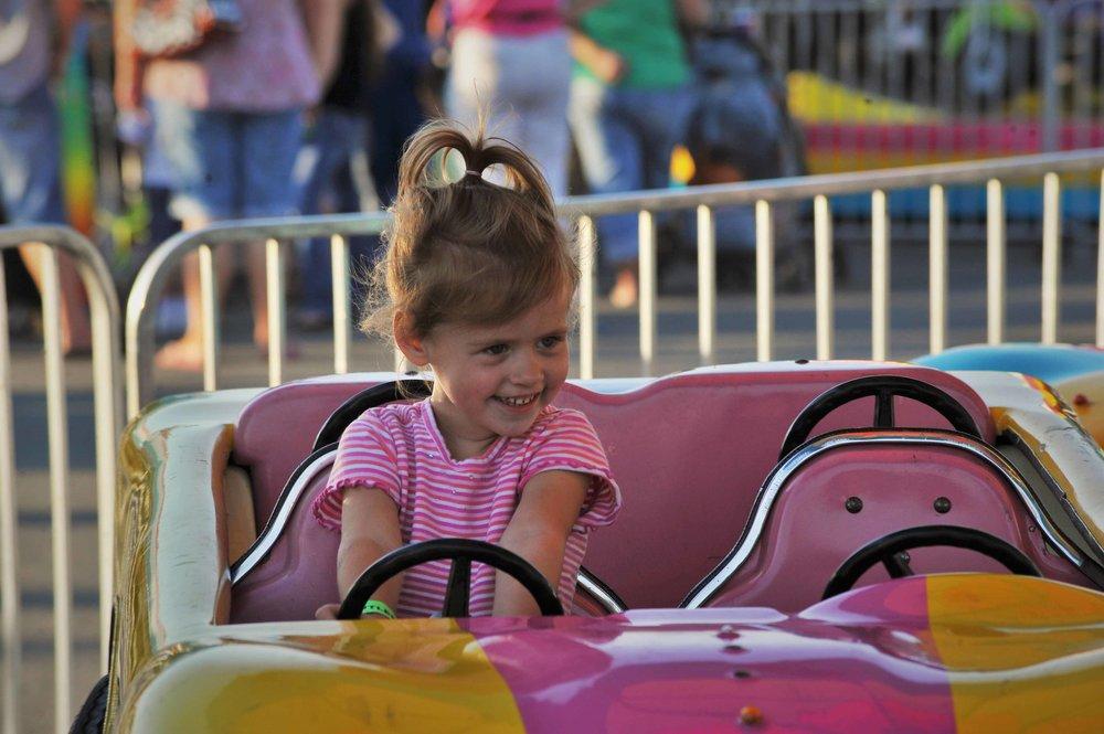 Happy driver, Snohomish County Fair, Wa