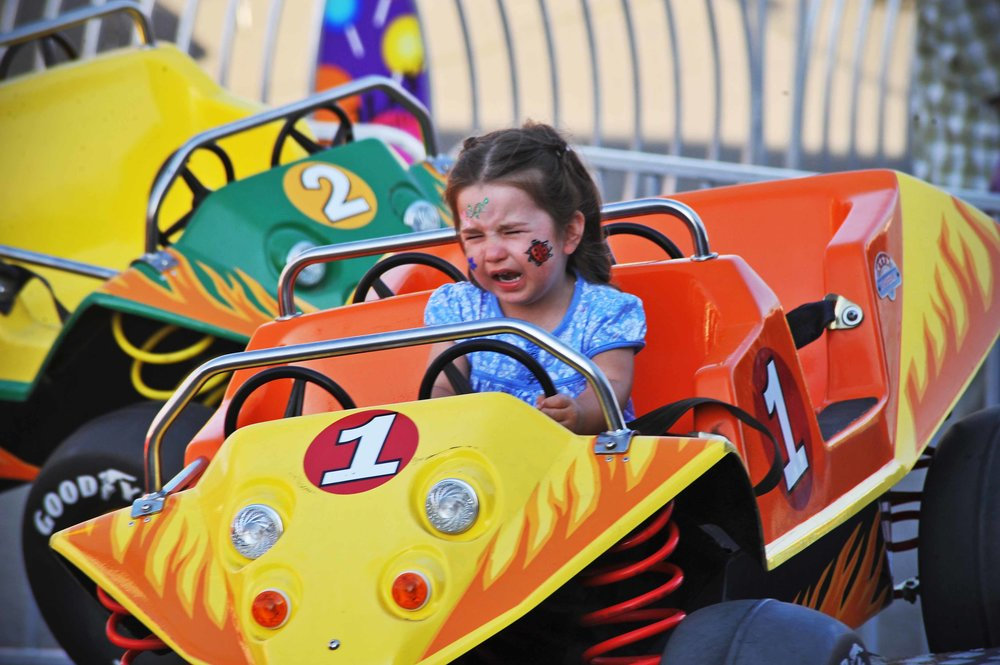 Reluctant driver, Snohomish County Fair, Wa