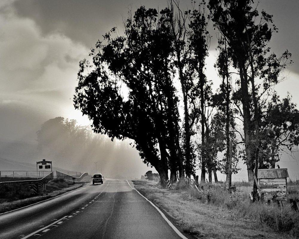 On the way to Napa California