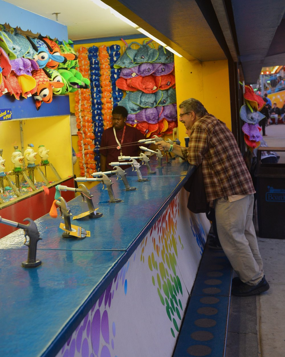 Water baloon contest, Santa Cruiz, Ca