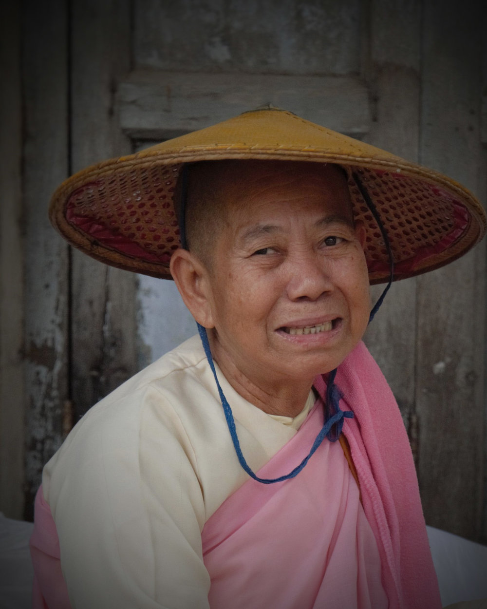 Buddhist Nun, Mandalay, Myanmar
