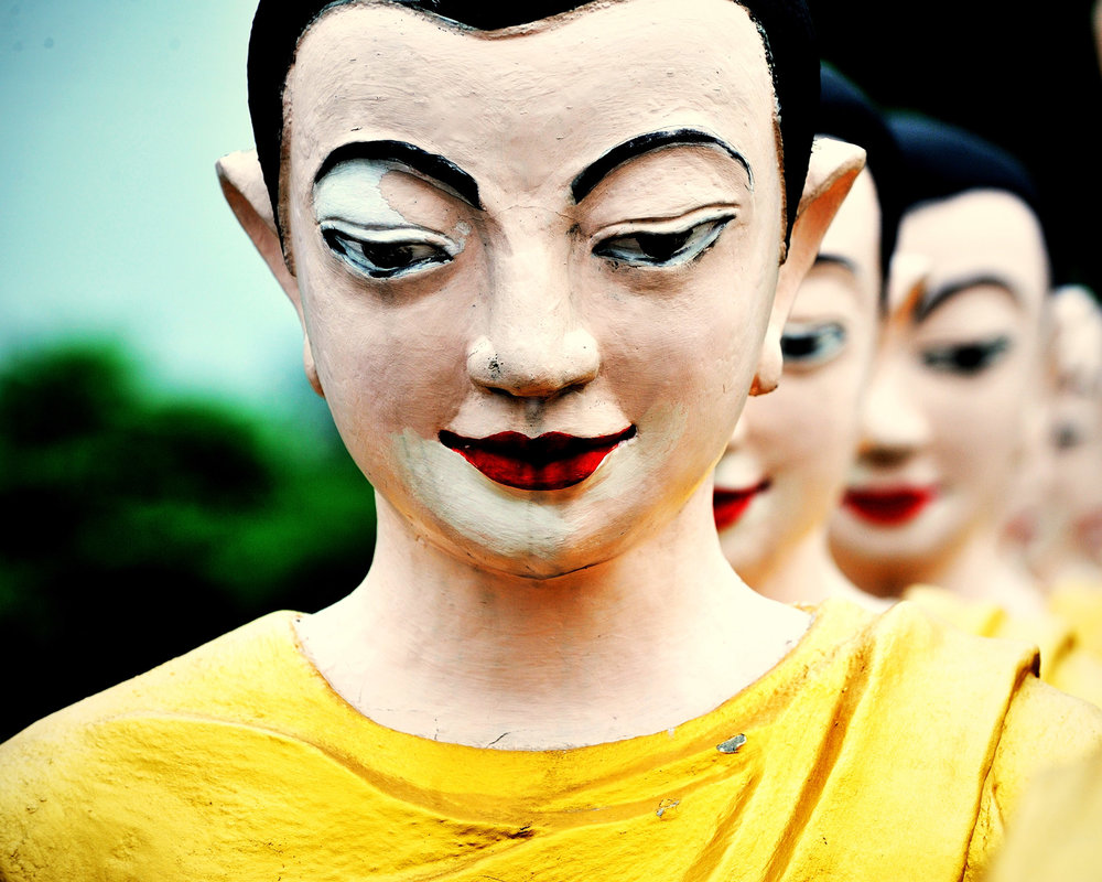 March of the Buddhas, Laos