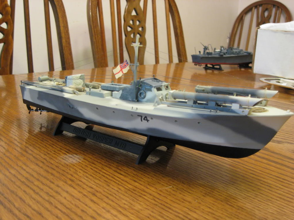 73 Foot Vosper MTB 1/72nd scale - Conversion. Photo 1 of 2.