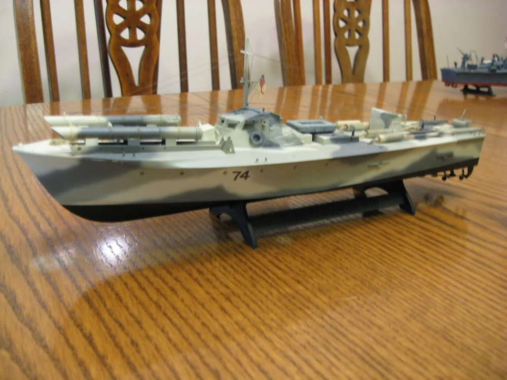 73 Foot Vosper MTB 1/72nd scale - Conversion. Photo 2 of 2.