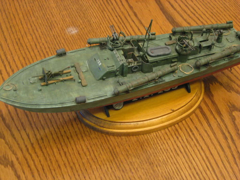 80 Foot Elco PT Boat 1/72nd scale - Early. Photo 1 of 2.