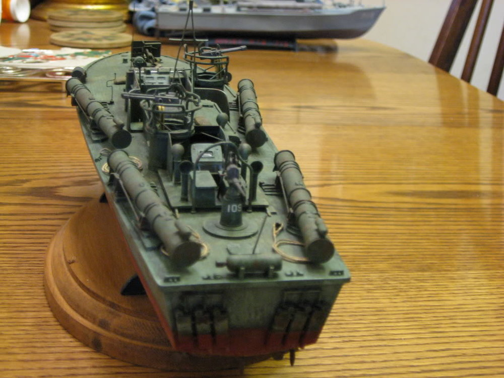 80 Foot Elco PT Boat 1/72nd scale - Early. Photo 2 of 2.
