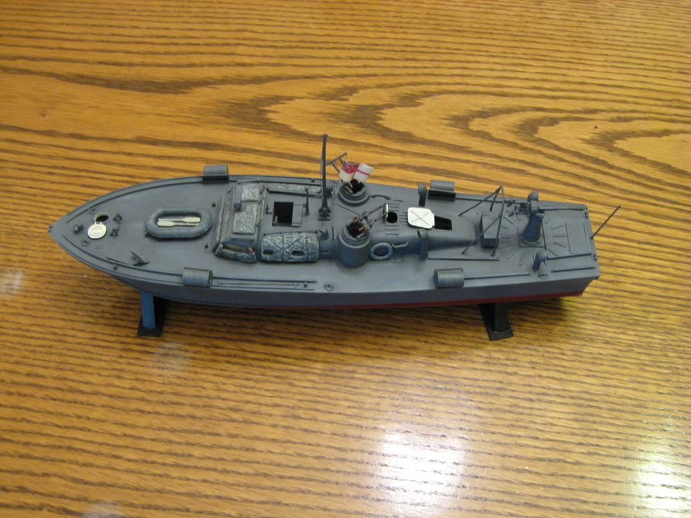 British Power Boat 63 Ft 1/72 scale MGB-43