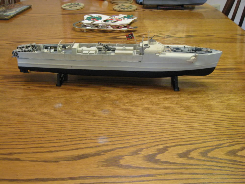 S-Boat 1-72nd scale - Conversion. Photo 1 of 3.