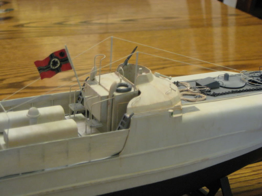 S-Boat 1-72nd scale - Conversion. Photo 2 of 3.