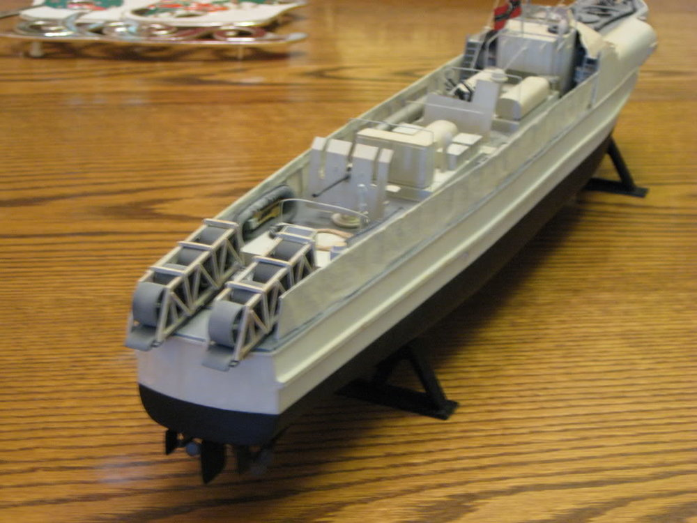 S-Boat 1-72nd scale - Conversion. Photo 3 of 3.