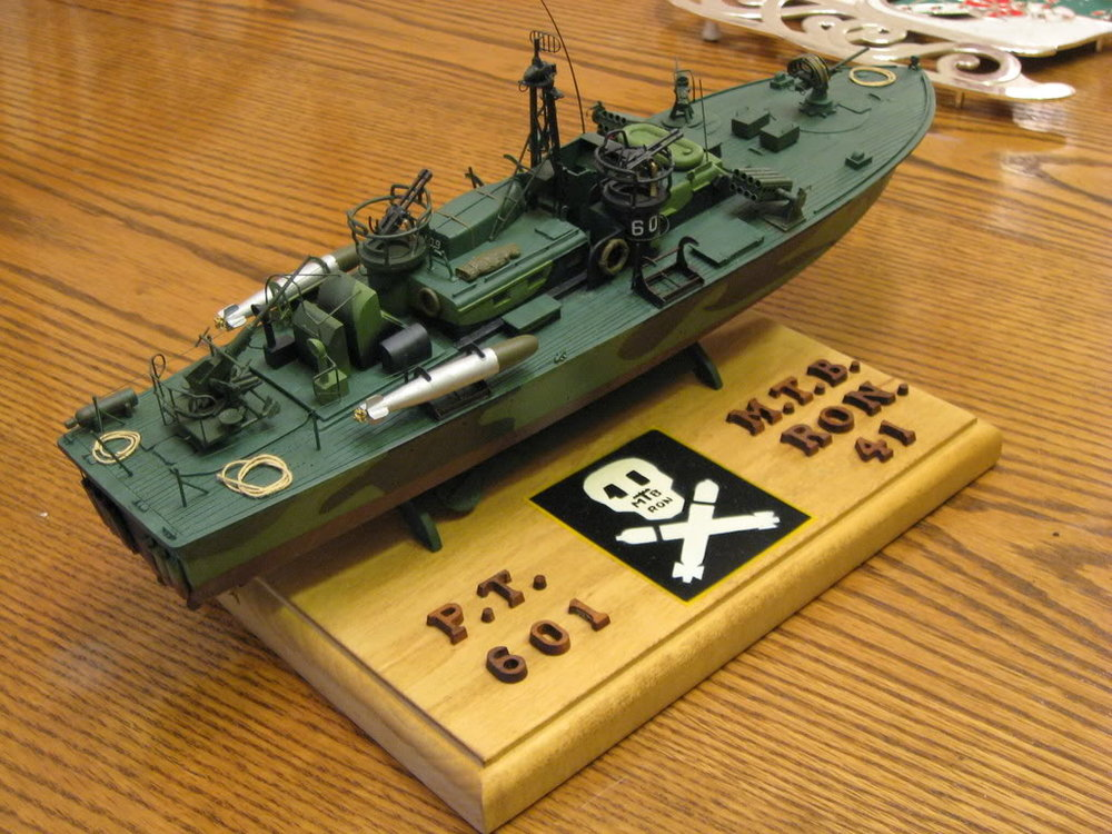 80 Foot Elco PT Boat 1/72nd scale - Late. Photo 1 of 2.