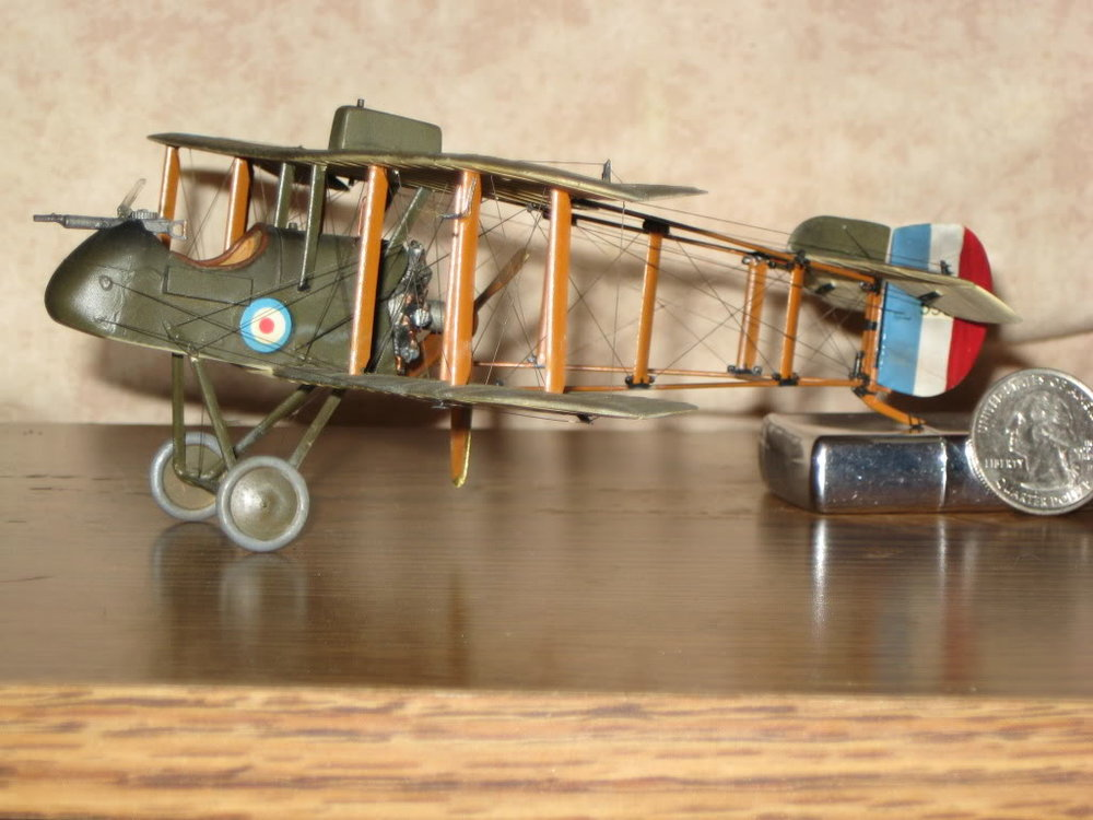 DH-2 Scratch-built 1/48 scale. Photo 1 of 5.