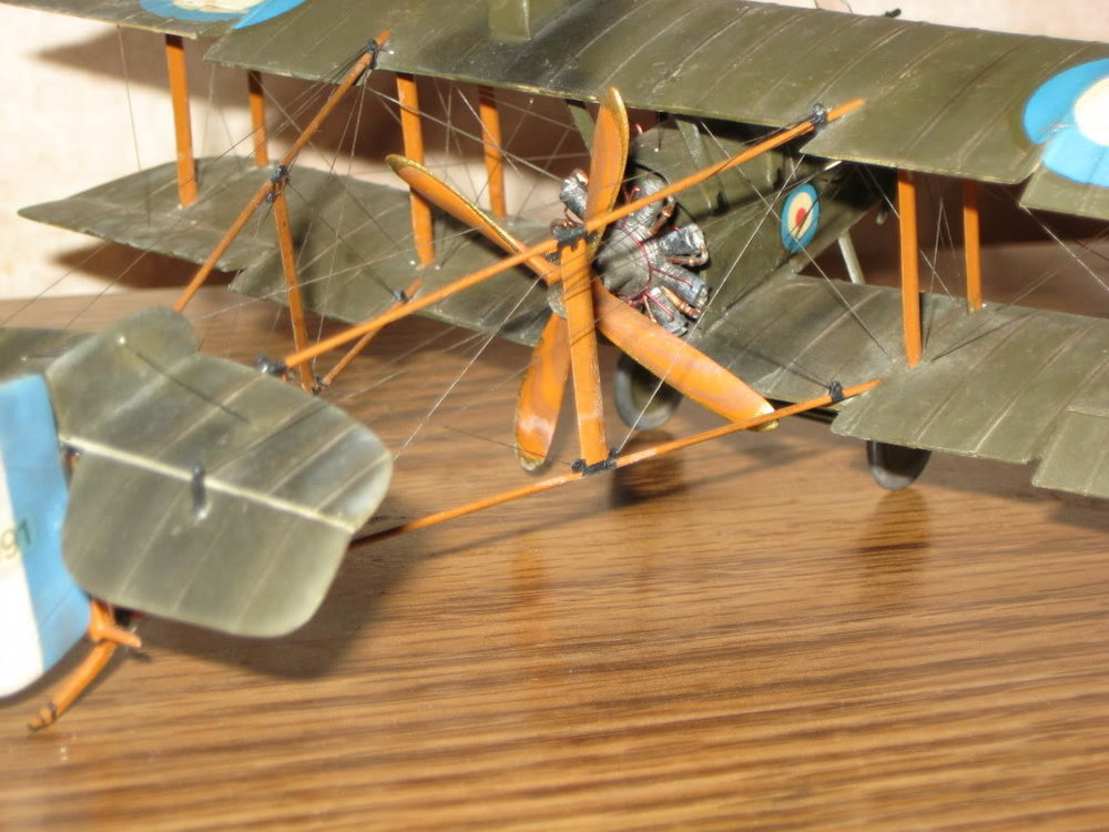 DH-2 Scratch-built 1/48 scale. Photo 2 of 5.