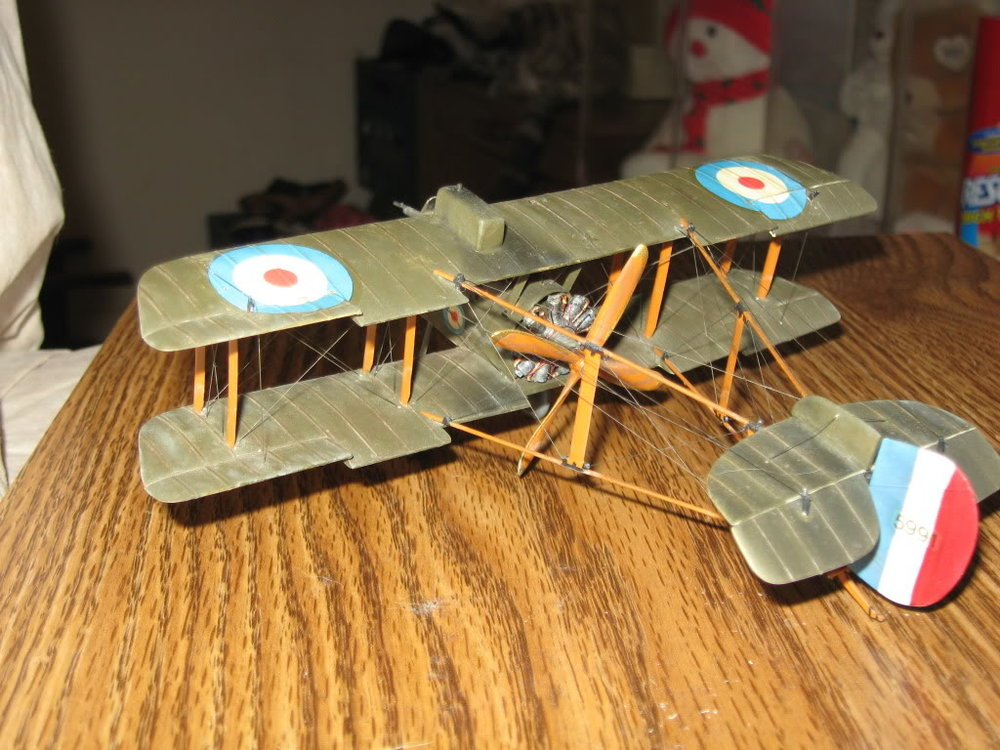 DH-2 Scratch-built 1/48 scale. Photo 3 of 5.