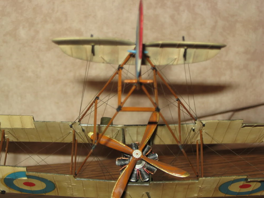 DH-2 Scratch-built 1/48 scale. Photo 4 of 5.