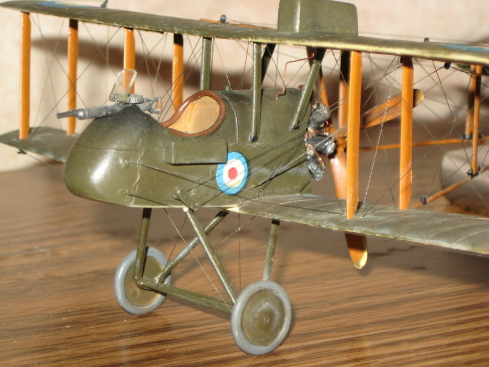 DH-2 Scratch-built 1/48 scale. Photo 5 of 5.