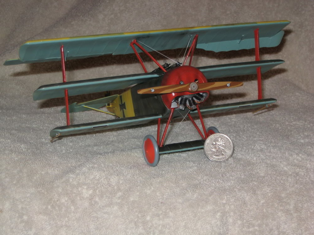 Fokker Dr.1 1/28th scale. Photo 1 of 3.