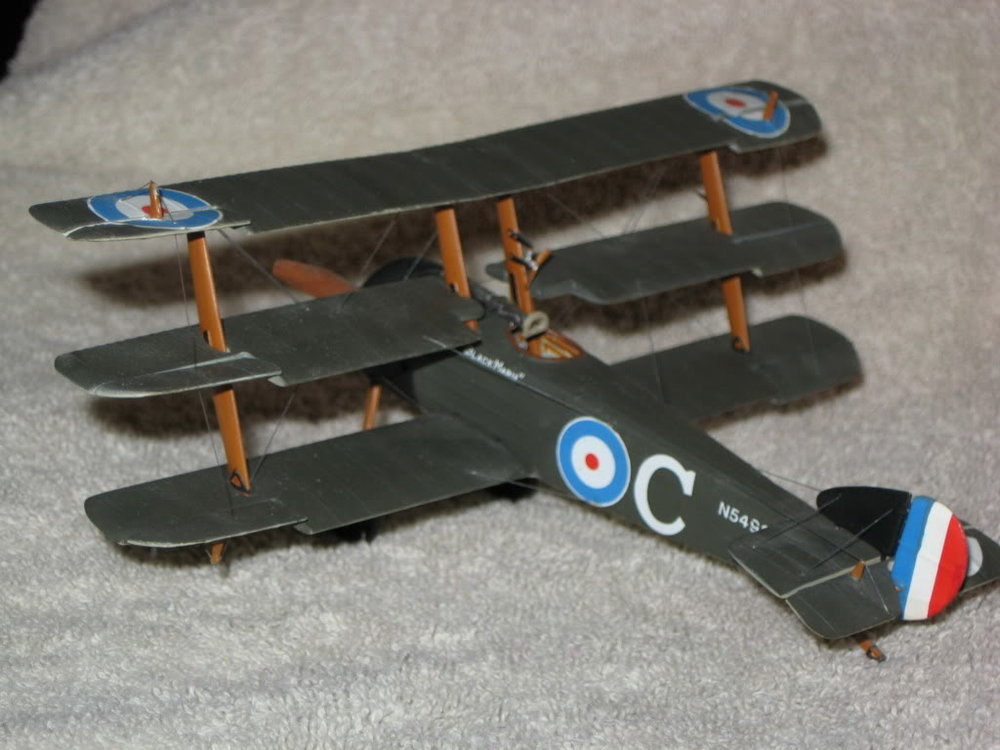 Sopwith Triplane Vacuform Kit 1/48th scale. Photo 1 of 3.