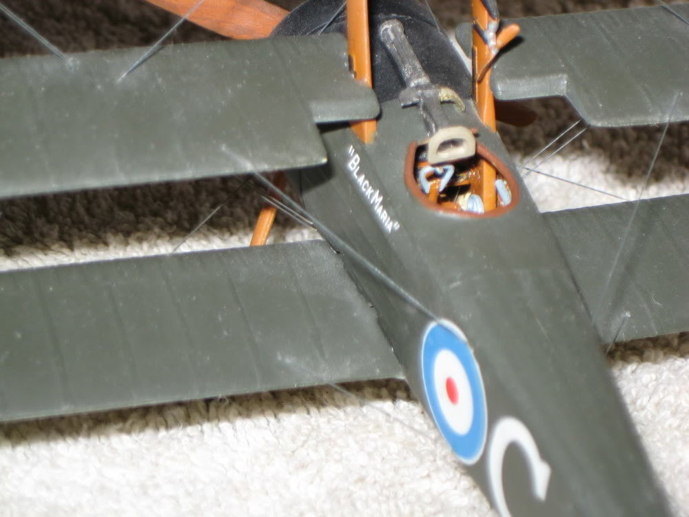 Sopwith Triplane Vacuform Kit 1/48th scale. Photo 2 of 3.