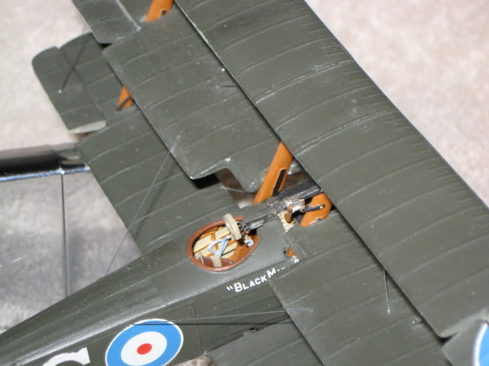 Sopwith Triplane Vacuform Kit 1/48th scale. Photo 3 of 3.