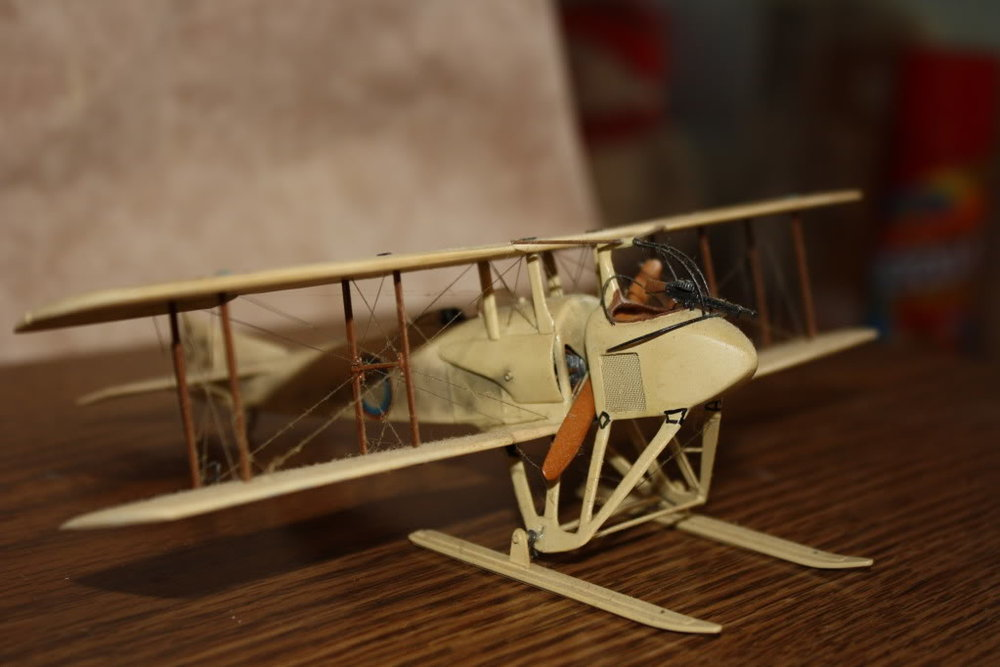 SPAD SA-3 in 1/48 scale. Photo 1 of 4.