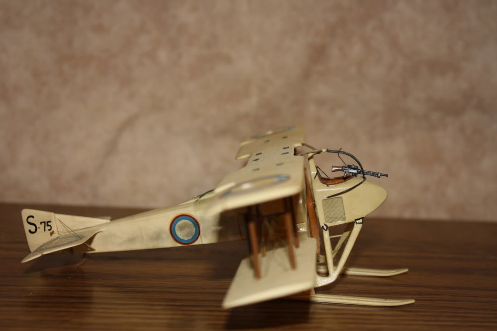 SPAD SA-3 in 1/48 scale. Photo 2 of 4.