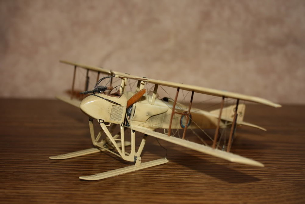 SPAD SA-3 in 1/48 scale. Photo 3 of 4.