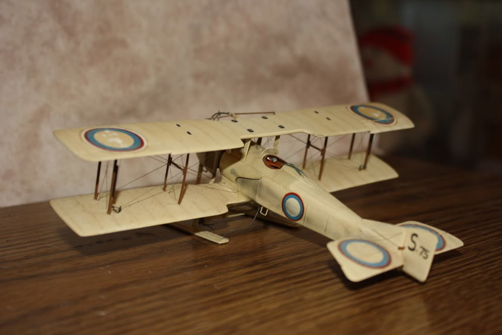 SPAD SA-3 in 1/48 scale. Photo 4 of 4.