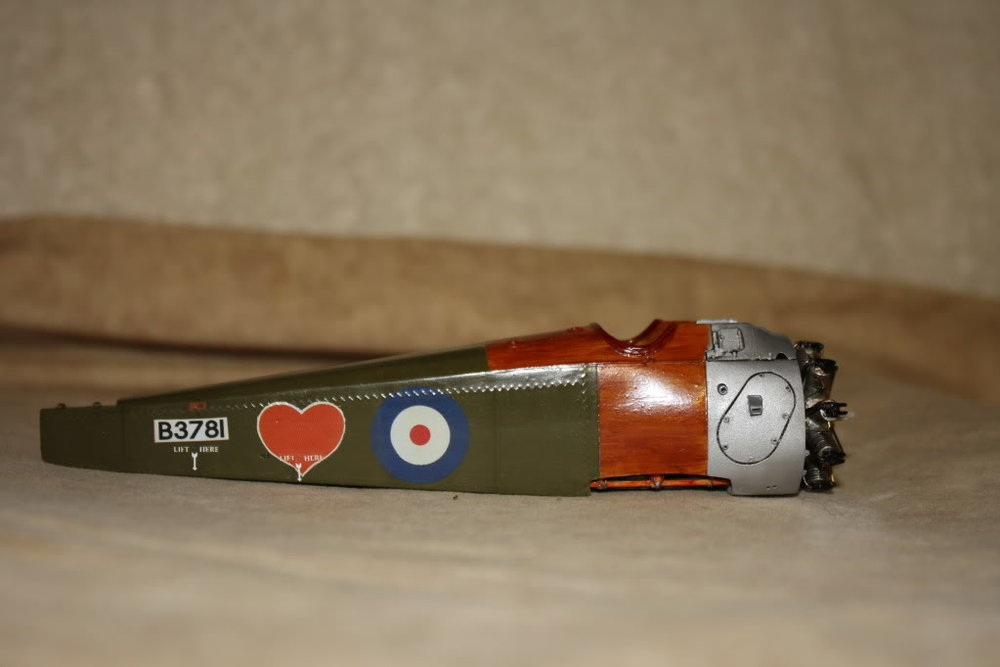 Sopwith Camel in-progress 1/32nd scale. Photo 1 of 3.