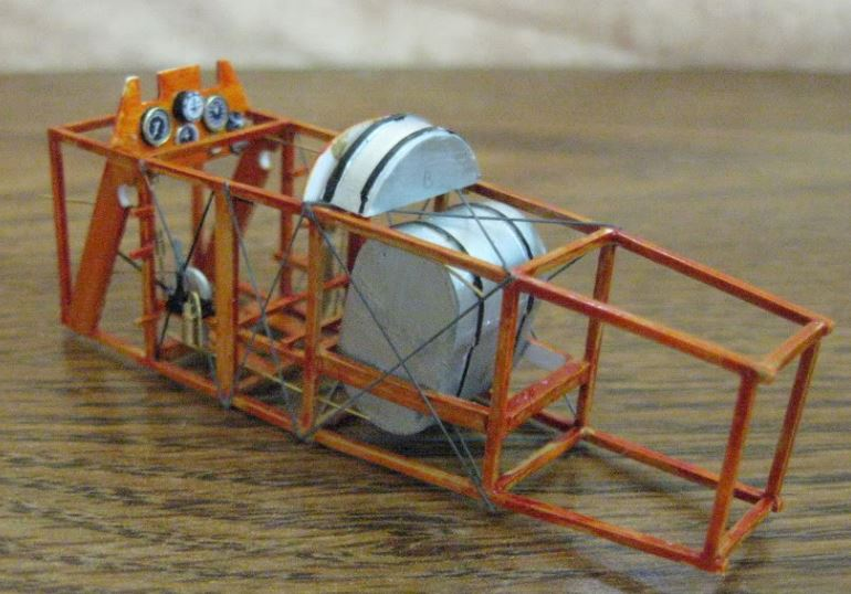 Sopwith Camel in-progress 1/32nd scale. Photo 3 of 3.