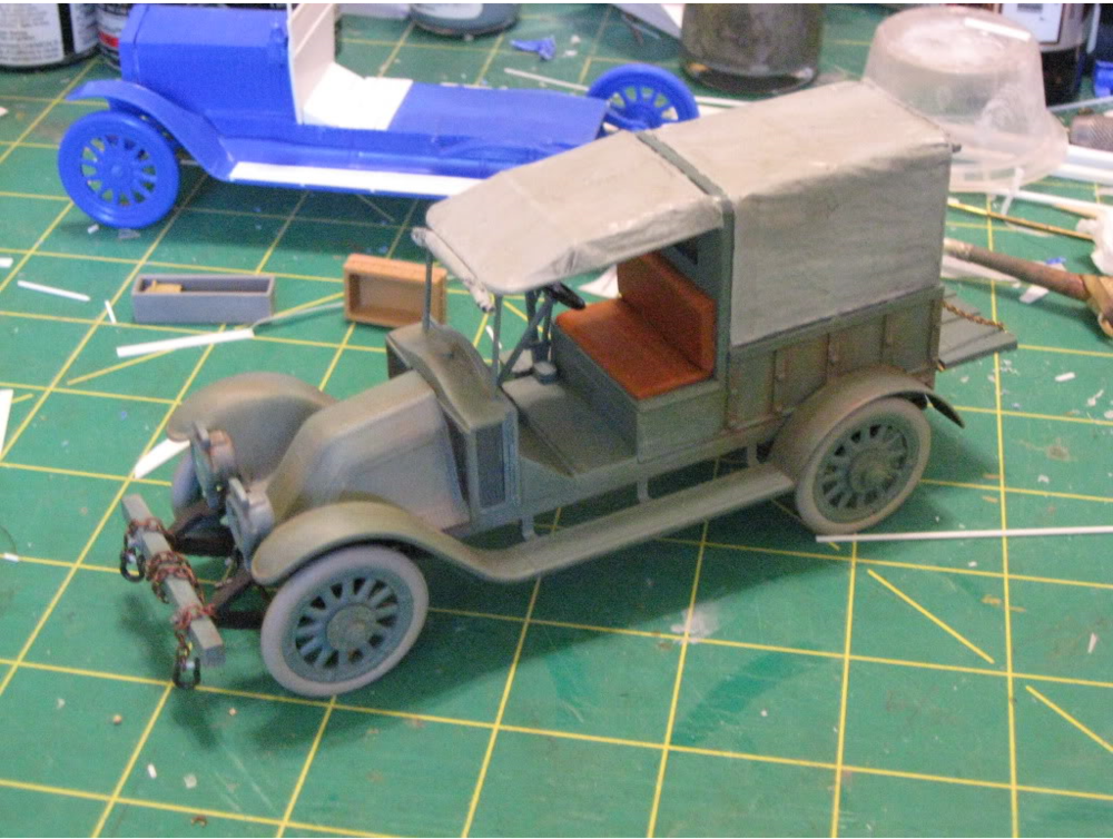 Renault Airfield Hack 1/32nd scale conversion. Photo 3 of 5.