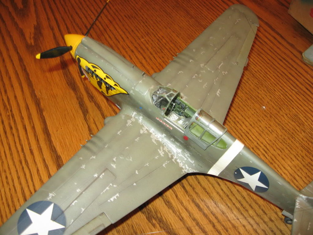 P-40E 1/32 scale. Photo 2 of 5.
