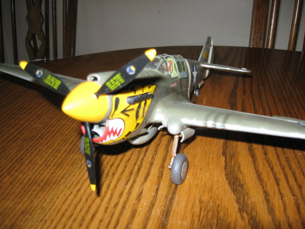 P-40E 1/32 scale. Photo 5 of 5.
