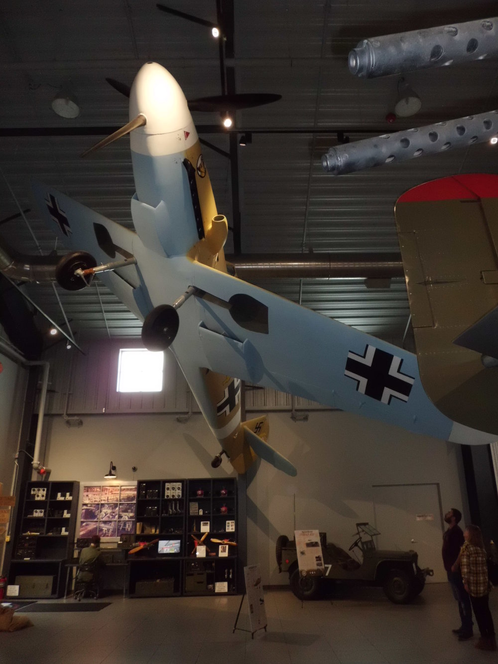 Bf 109 Ceiling Hanger. Photo 2 of 3.