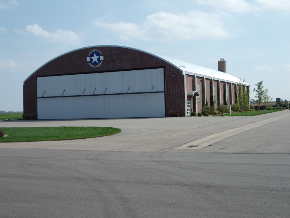 """Tornado-Proof"" Hangar."