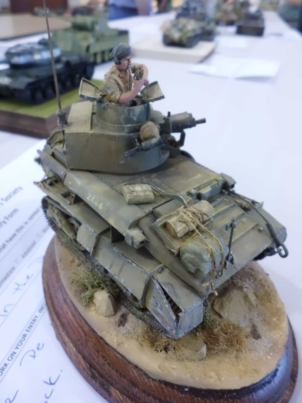 Vickers Light Tank Mk.VI by CTSMS Member   Scott Guay