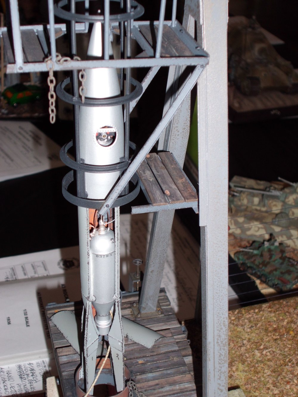 Scratch built A-3 Mobile Test Stand by David Carlton