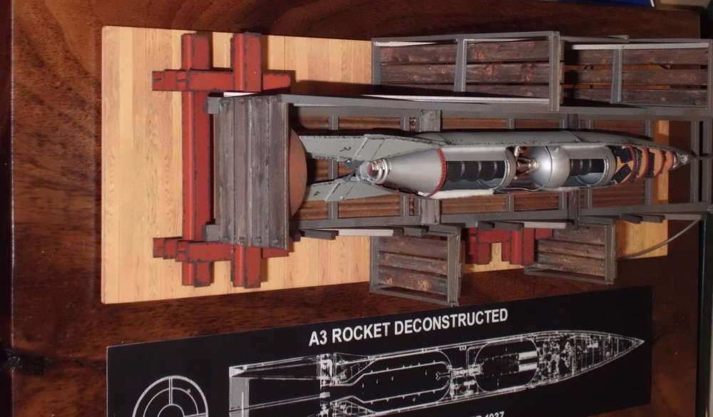 Scratch built A-3 Rocket Deconstructed by David Carlton